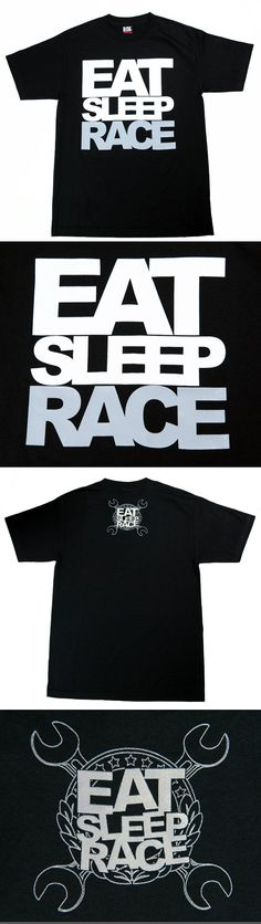 EAT SLEEP RACE Shirt
