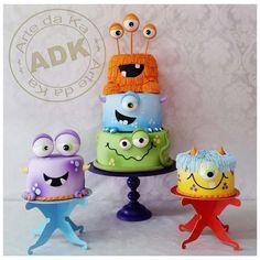 Monster Kids b-day cake