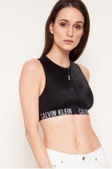 Calvin Klein Jeans - Sutien de baie Calvin Klein, Bra, Crop Tops, Jeans, Women, Fashion, Moda, Fashion Styles, Bra Tops