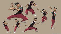 Always love to draw dancers) https://www.youtube.com/watch?v=OTOToZsC_G0