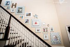 cuadros bajando la escalera