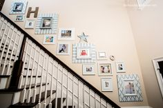 Stair Wall Display