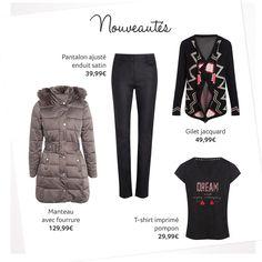 Les nouveautés de la semaine vous proposent un look pour avoir bien chaud ► http://nuk.io/mTZFfu #jemesensbelle