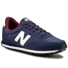 Sneakersy NEW BALANCE - Classics WL410DSB Granatowy