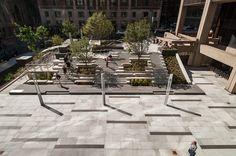 Roemer Plaza by Klopfer Martin Design Group «  Landscape Architecture Works | Landezine