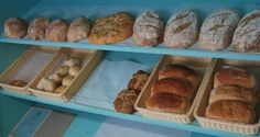 sourdoughs, focaccia's, multigrain loaves