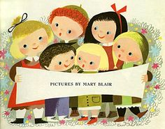 SPRINKLES AND PUFFBALLS: Mary Blair: Marvelous, Whimsical Illustrations