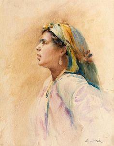 View Jeune algérienne by Alphonse Birck on artnet. Browse upcoming and past  auction lots by Alphonse Birck. fbb67bd494e