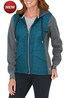 Women's Performance Work Tech Fleece Puffer Jacket | Dickies