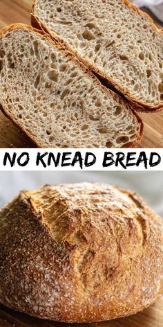 This No-Knead Bread is the perfect way to learn how to make a homemade artisan loaf without aching arm muscles. In just hours youll have a artisan rustic loaf thats full of flavor to enjoy! Artisan Bread Recipes, Healthy Bread Recipes, Baking Recipes, Delicious Recipes, Appetizer Recipes, Snack Recipes, Dessert Recipes, Tofu Recipes, Noodle Recipes