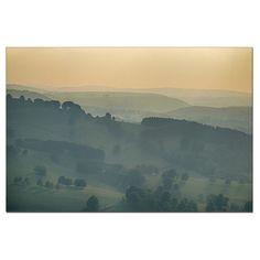 Za závojem mlhy - fotoobraz 80x120cm