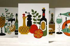 Alfresco Still Life Cards set of 8 by giardino on Etsy, $22.00