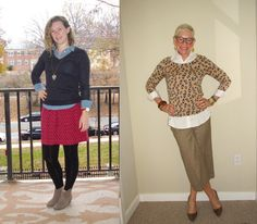 Shirtails Out   Two Take on Style