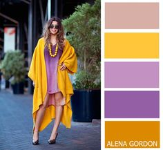 Color-Block Fashion by Alena Gordon