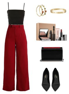 """Outfit"" by lilyhastings98 on Polyvore featuring moda, Topshop, Disney, Yves Saint Laurent, Christian Louboutin, Sephora Collection ve Cartier"