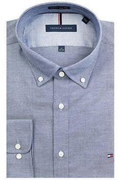 TOMMY HILFIGER MEN/'S NON IRON REGULAR FIT PLAID LS DRESS SHIRT SMALL NEW NWT
