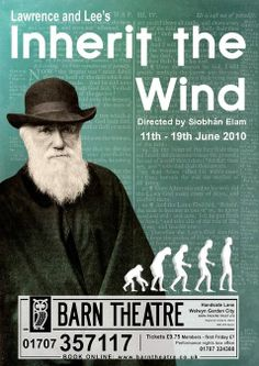 inherit the wind thesis I read the book inherit the wind, recently for a school summer project i now have to write a 500-750 word essay on one side of the debate, evolution or creationism.