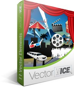 Hollywood Vector Pack - download here: http://vectorvice.com/hollywood-vector-pack.html