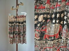 Vintage 70s Sparkly Indian Gauze Skirt by cakeshopvintage on Etsy, $40.00