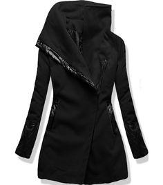 Kabát 8182 čierny