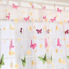 Now available on our store: New Fashion Butte... Check it out here! http://jagmohansabharwal.myshopify.com/products/new-fashion-butterfly-print-sheer-window-panel-curtains-room-voile-curtain-divider-204cm-x-95cm?utm_campaign=social_autopilot&utm_source=pin&utm_medium=pin