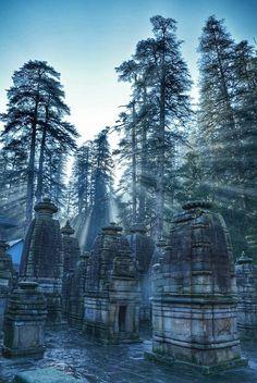 Jageshwar temple , Almora , Uttarakhand , India.