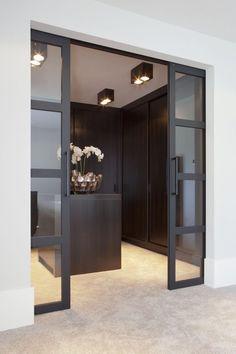 14 Walk In Closet Designs For Luxury Homes Walk In Closet Design, Closet Designs, Dressing Room Design, Dressing Rooms, Closet Bedroom, Master Closet, Style At Home, Home Interior Design, Interior Doors