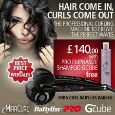 BabyLiss Miracurls + Gcube Free Gift!!!