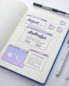 Bullet Journal Lettering Ideas, Bullet Journal Notebook, Bullet Journal School, Bullet Journal Inspo, Bullet Journal Spread, Bullet Journal Ideas Pages, Book Journal, Bullet Journal Layout, Bullet Journals