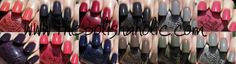 OPI Fall 2011 Touring America Collection Swatches