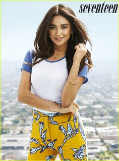 Shay Mitchell for the August 2015 cover of Seventeen magazine