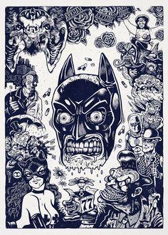 5 Cool Artworks by Ivan Portier aka ProZeet - Follow Artist on Behance // Tumblr // Facebook // Instagram More Batman Related Artworks More Medusa related Artworks