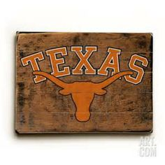 texas longhorn wood signs - AT&T Yahoo Image Search Results