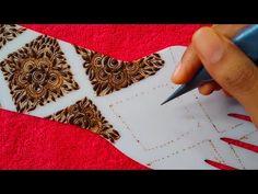 #hennastencils #designcomhenna Beautiful Arabic Box Shaped Henna Design || Unique Arabic Mehndi Design for Hands