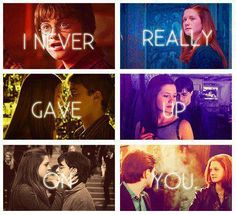 harry potter and ginny weasley image Harry Potter World, Mode Harry Potter, Harry Potter Couples, Harry Potter Pictures, Harry Potter Ships, Harry Potter Facts, Harry Potter Quotes, Harry Potter Characters, Harry Potter Love