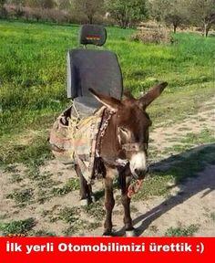İlk yerli otomobilimizi ürettik :)  #mizah #matrak #komik #espri #şaka #gırgır #komiksözler #caps