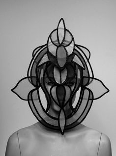 Philip Treacy - reminds of a church's window                                                                                                                                                      More