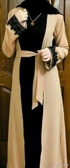 ملابس محجبات2019.اشيك فساتين المحجبات الصيفية.ازياء محجبات2019.حجاب 3dlat.com_23_18_c4cf Abaya Fashion, Muslim Fashion, Modest Fashion, Girl Fashion, Fashion Outfits, Burqa Designs, Abaya Designs, Modele Hijab, Hijab Style
