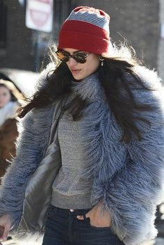 The top winter street style looks to inspire your cold-weather outfits now: