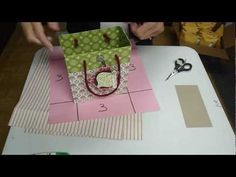 Awesome tutorial on how to make a gift bags with 2 sheets of 12x12 dsp