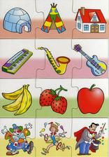 None Toddler Learning Activities, Games For Toddlers, Infant Activities, Preschool Activities, Preschool Curriculum, Preschool Worksheets, Things That Go Together, Learning Through Play, Puzzles For Kids