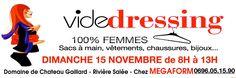 Le 15 Nov. Vide Dressing 100% femmes #agenda #sortie #martinique #soiree #Antilles #domtom #outremer #concert