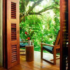I want to go here!!! Playa Nicuesa Rainforest Lodge—Peninsula de Osa, Puntarenas, Costa Rica. #Jetsetter