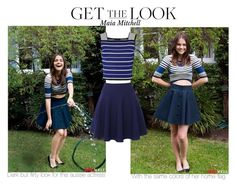 """""""Maia Mitchell: Get the Look"""" by todays-fairytale ❤ liked on Polyvore featuring QNIGIRLS and Ohne Titel"""