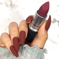 These 32 Gorgeous Mac Lipsticks Are Awesome – Powder Kiss - Hair and Beauty ey. These 32 Gorgeous Mac Lipsticks Are Awesome – Powder Kiss - Hair and Beauty eye makeup Ideas To Try - Nail Art Design Ideas Mac Lipstick Shades, Mac Lipstick Swatches, Mac Lipsticks, Lipstick Art, Viva Glam Mac Lipstick, Mac Makeup, Makeup Cosmetics, Beauty Makeup, Makeup Brushes