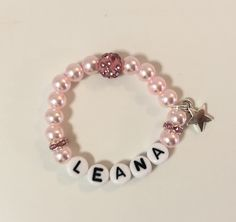 Perlenarmkette für Baby, Kind oder Mutter Baby Kind, Beaded Bracelets, Jewelry, Fashion, Feathers, Chain, Moda, Jewlery, Bijoux