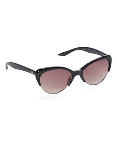 Black Browline Sunglasses