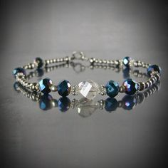 Silver Ball Lining Anklet