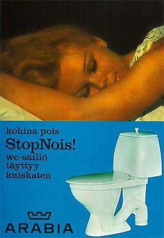StopNois-ominaisuus täytti wc-säiliön ilman kohinaa. http://www.ido.fi #bathroom #bathroomdesign #interiordesign #homespa #scandinaviandesign #bathroomideas #bathroomsink #interiordecoration #toilet #factory #sink #finnishdesign #bathroominspiration #ceramics #ceramicsoven #bathroomidea #tap #washbasin #fauset #behindthescenes #sanitary #porcelain #interiorideas #advertisement #history #toiletseat #revolutionary #printad #advertisement #marketing