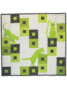 Cats Play Quilt Pattern